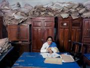 India, bureaucracy, Bihar, 2003. By Jan